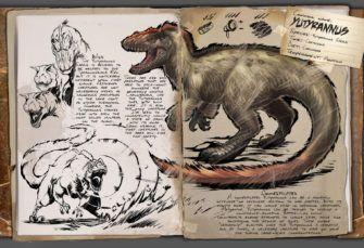 Ark Survival Evolved Dossier Yutyrannus Ark Arksurvivalevolved Openworld Dino Sur Ark Survival Evolved Game Ark Survival Evolved Prehistoric Animals