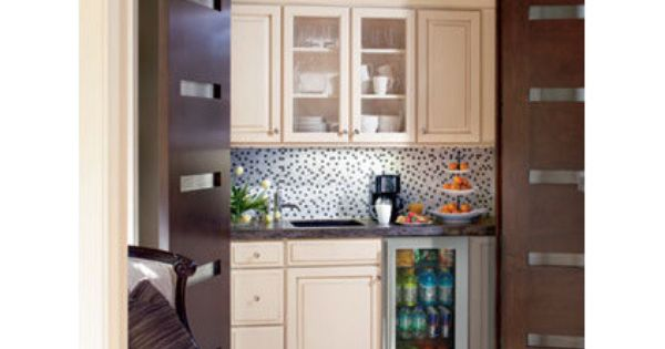 Master Bedroom Kitchenette For The Home Pinterest Refrigerator Wet Bars And Base Cabinets
