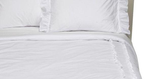 Simply Shabby Chic Heirloom White Comforter White Comforter