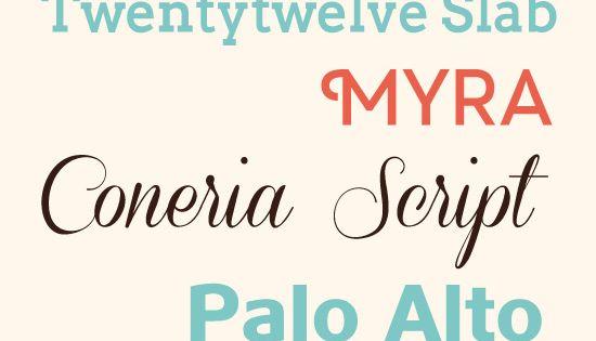 Fuentes de calidad para descargar lettering tipografía