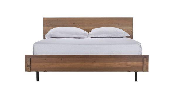 Reclaimed teak bed teak and bedrooms - Characteristics of contemporary platform beds ...