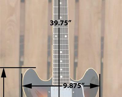 Es 335 Vs Es 339 Body Measurements Forums Guitar Building Luthier Guitar Guitar Diy