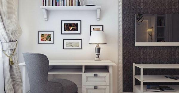 Petit bureau à domicile - choisir mobilier bureau approprié ...