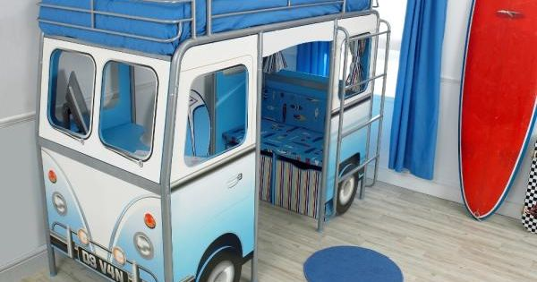 VW Bus Bunk Bed, $1200 ... Ben would have loved this since