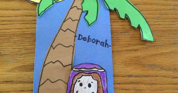 Deborah Bible Crafts for Kids