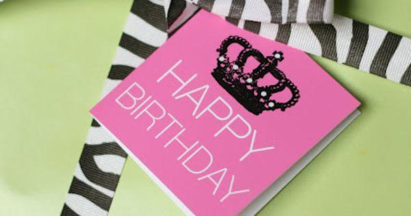 Free Printable} Happy Birthday Mini Notecards | Studios, Packaging ...