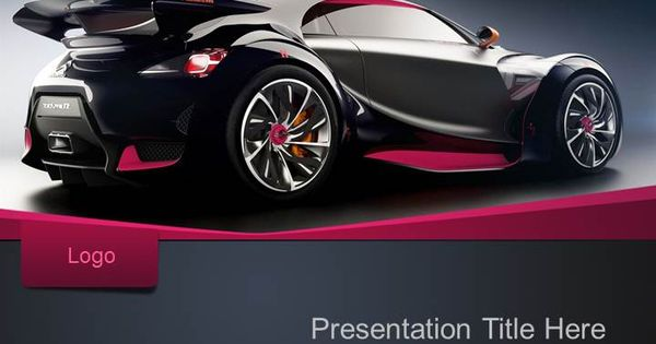 Luxury Cars Powerpoint Template Design Powerpoint Templates Car Finance Car Loans Sports Cars