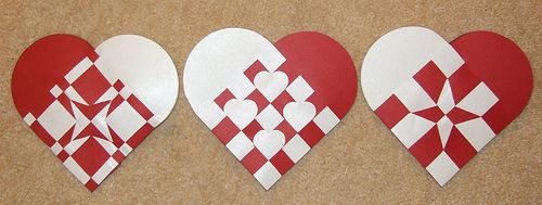 Danish Christmas Hearts Including Printable Template Updated Paper Crafts Scrapbooking Atcs Artist Trading C Christmas Hearts Danish Christmas Crafts