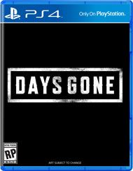 Boxshot Days Gone By Sony Computer Entertainment Playstation Day Gone Ps4 Ps4 Games