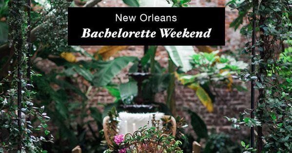 New orleans bachelorette weekend gardens museums and for Bachelorette party ideas new orleans