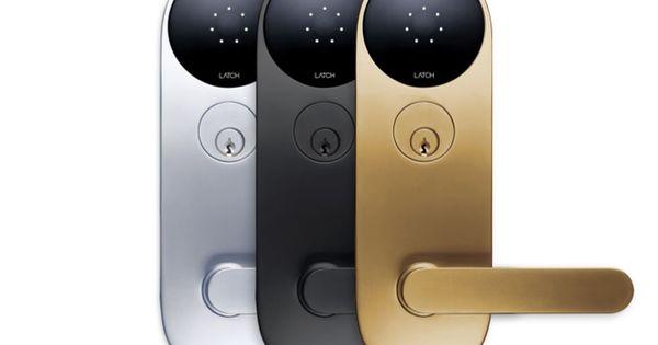 The Latch Smart Lock Wants To Open Every Door In Your Apartment Smart Door Locks Smart Lock Home Automation