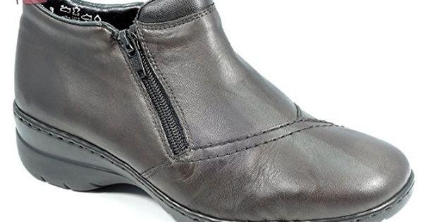 42 L4352 Rieker synthétique EU femmes graphite Bottine Chaussures qppnw8g