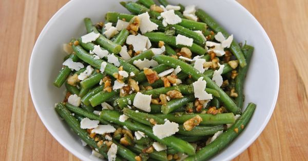 ... Parmesan and Mint | On the Side | Pinterest | Green Bean Salads, Bean