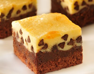 Cheesecake Topped Brownies (Nestle Toll House recipe)