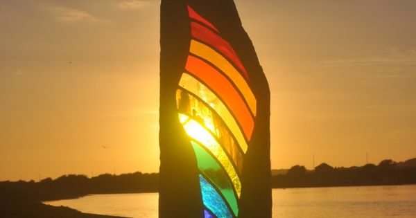 Shine. Louise V Durham's bespoke stained glass artworks.