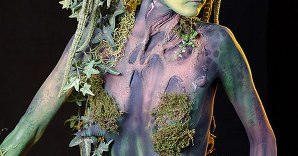 Fantastic make-up and body paint - Photoshop World Fall 2011 by Edwarr,