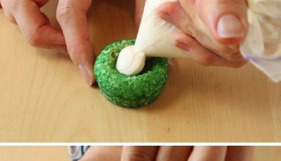 Easter Basket Cookies | Recipe By Photo- premade sugar cookie dough- sprinkles-