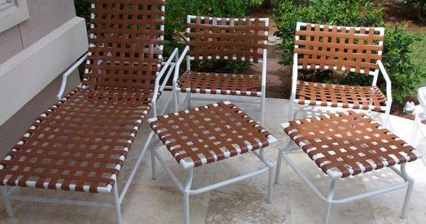 Tropitone strap patio furniture calgary outdoor patio furniture pinterest vinyls chairs - Cheap patio furniture calgary ...