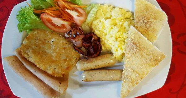 Trendy Cafe Style Western Big Breakfast With Eggs In Penang Big Beans Big Breakfast Cafe Style Eat Breakfast