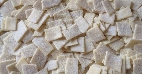 how to make pasta semolina flour