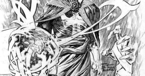 Au77 Doctor Strange Hero Illustration Art: Awesome Art, Iron Fist