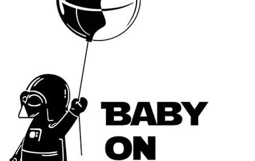 Details About Star Wars Darth Vader Balloon Funny Quot Baby On