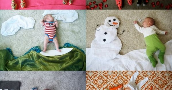 Sleeping Baby Photo Ideas! very cute idea for later