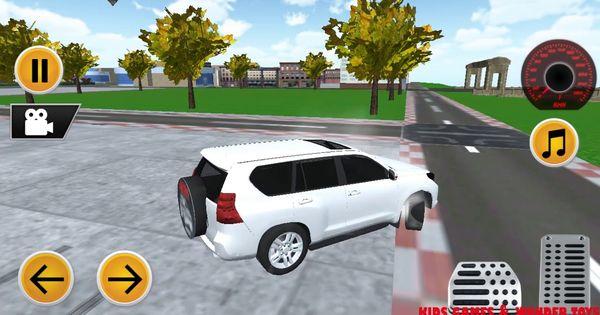 Crazy Prado Suv Simulator 2018 Unlimited Free Drive New Car Android Gam New Cars Car Prado