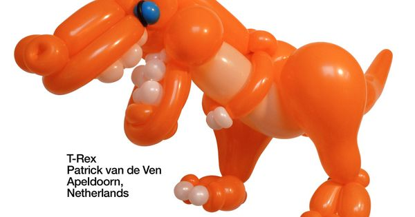 Orange entries Balloon T-Rex Patrick van de Ven Apeldoorn, Netherlands ...