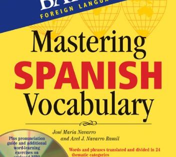 Mastering Spanish Vocabulary With Audio Mp3 A Thematic A Https Www Amazon Com Dp 1438071558 Ref Cm Sw R Pi Dp U X Mfu French Vocabulary Spanish Vocabulary