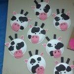 Cow Craft Farm Animal Crafts Daycare Crafts Cow Craft