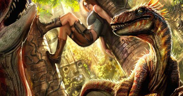 Ark Survival Evolveds Design Lead On Huge Server Wipe Tomb Raider Digital Artists Tomb Raider Art