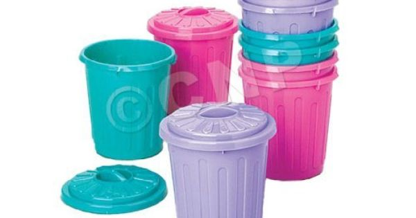 Trash Can Toys R Us : Mini garbage cans by us toy company http amazon