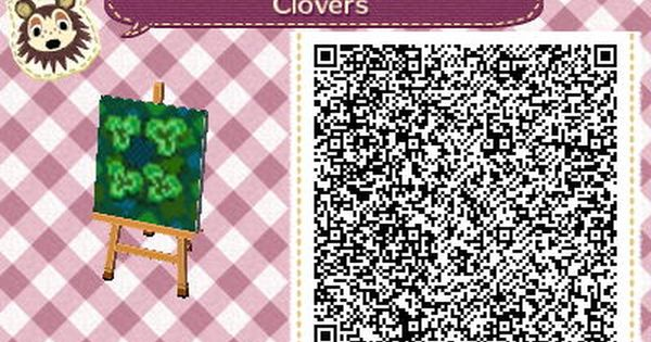 La triche des tr fles 4 feuilles acnl pinterest le for Carrelage kitsch animal crossing new leaf