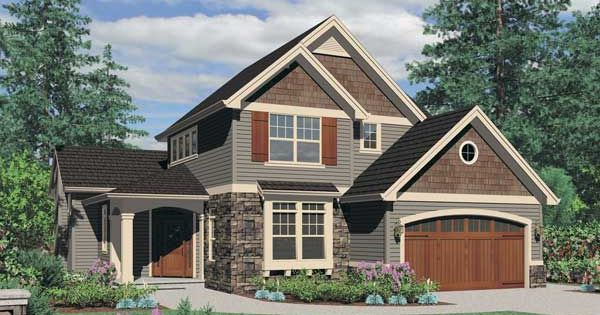Best Color Combinations For House With Cedar Shake Accents 400 x 300