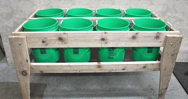 8 Bucket Raised Garden Bed 56x28x31 Http Www