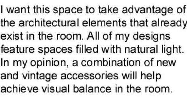 How To Write An Interior Design Concept Statement Interior Design Concepts Interior Design Resume Concept Design