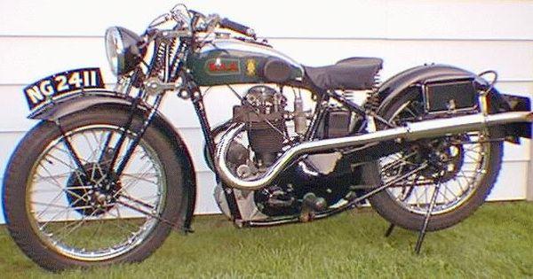 Bsa 1939 M21 Deluxe