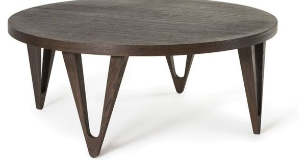 Hudson 42 Round Coffee Table Tobacco Rubin House Pinterest One Kings Lane Kings Lane