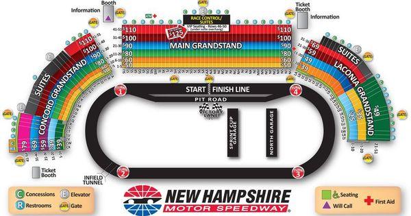 Sylvania 300 Sylvania Map Speedway