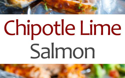 Check out Chipotle Lime Salmon. It's so easy to make ...