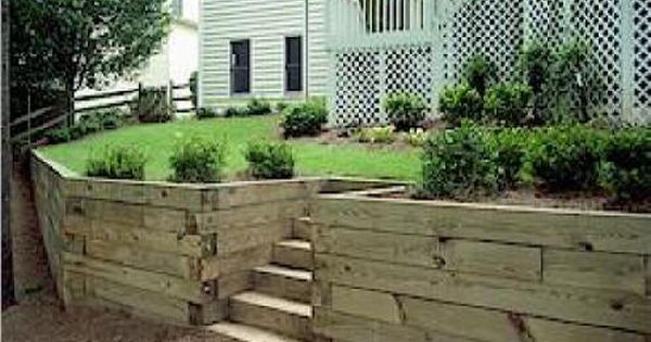 Local Near Me Retaining Walls We Do It All Low Cost Building A Retaining Wall Wood Retaining Wall Sloped Garden