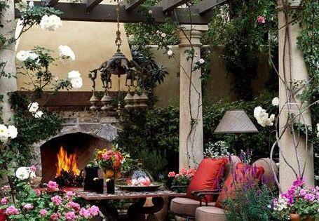 Dream backyard!! pergola and fire outdoor room