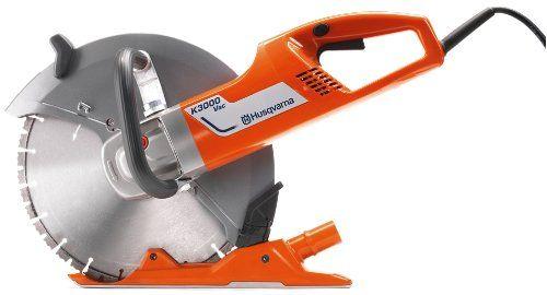 Husqvarna 966715901 K3000 Vac Electric Power Cutter With Images Husqvarna Best Cordless Circular Saw