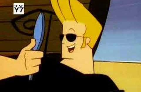 Cartoon Characters Named Johnny : Johnny bravo an american tv serie the series stars a