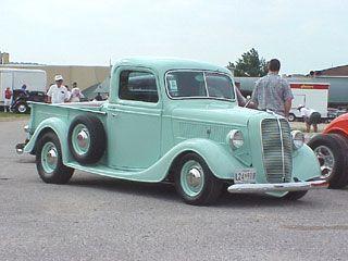 1937 Ford Pickup Classic Cars Trucks Classic Pickup Trucks Cool Trucks