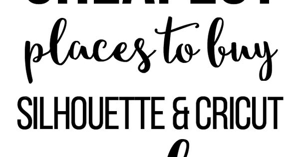 cheapest places to buy silhouette and cricut supplies vinyls dr who and my sister. Black Bedroom Furniture Sets. Home Design Ideas