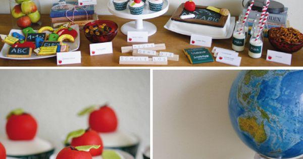 Ideen für eine Einschulungsfeier zum ersten Schultag! Schulanfang