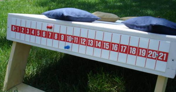 Corn hole score keeper idea------need to make before they finish BJ's boards!!!!!