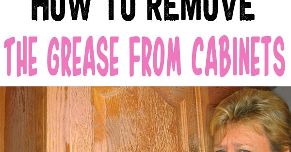 How to remove grease from kitchen cabinets how to clean grease from kitchen cabinet doors the - How to remove grease stains from kitchen cabinets ...